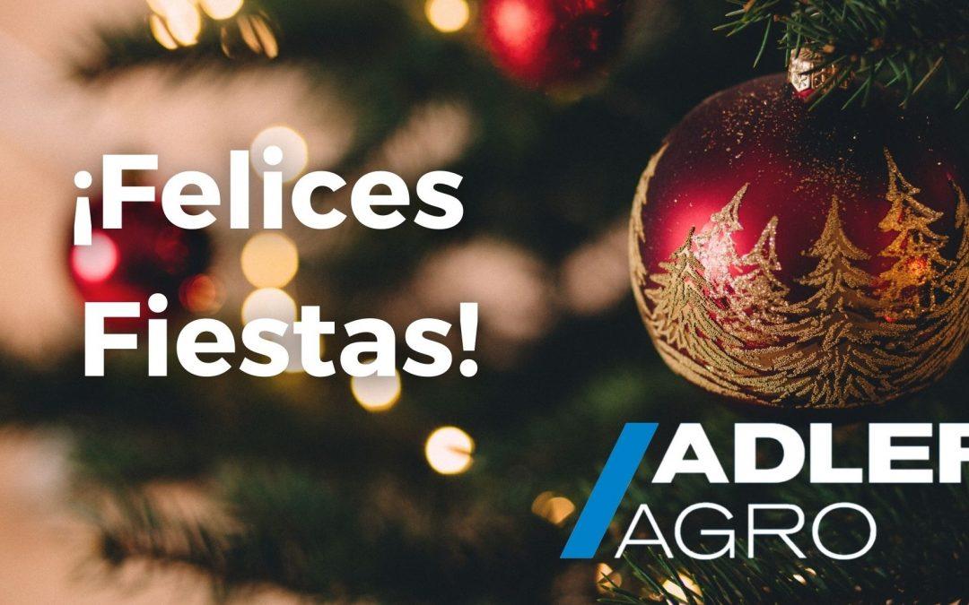 Desde ADLER AGRO os deseamos unas Felices Fiestas