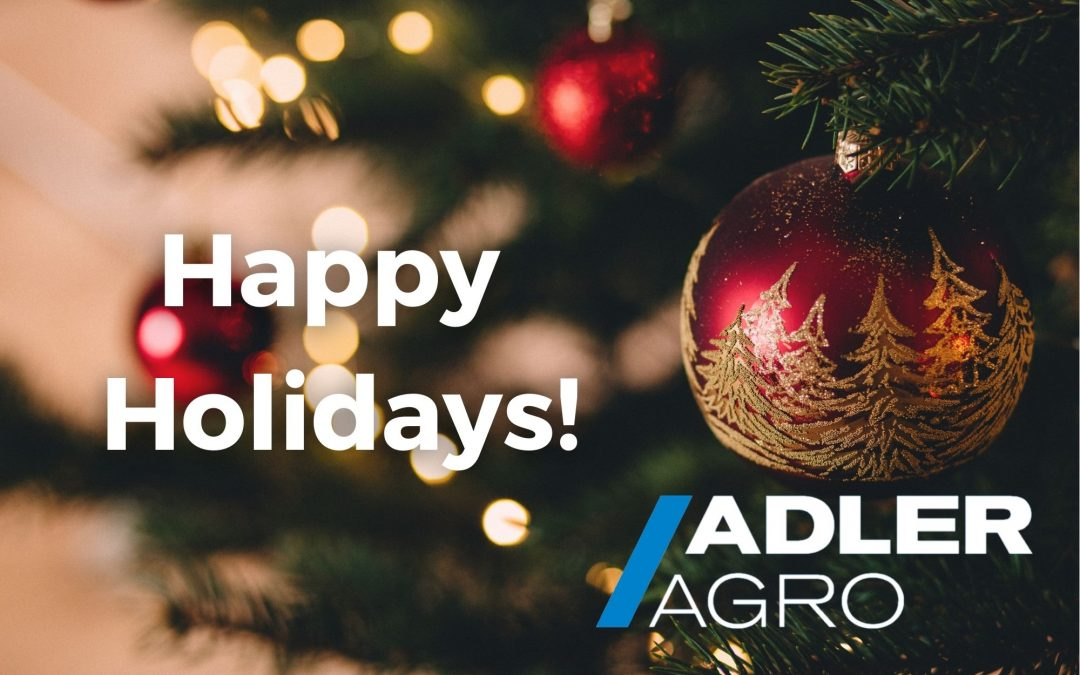 From ADLER AGRO we wish you Happy Holidays